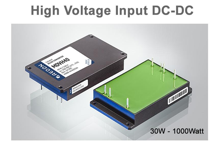 Aedon_Military_high_voltage_input_DC_DC