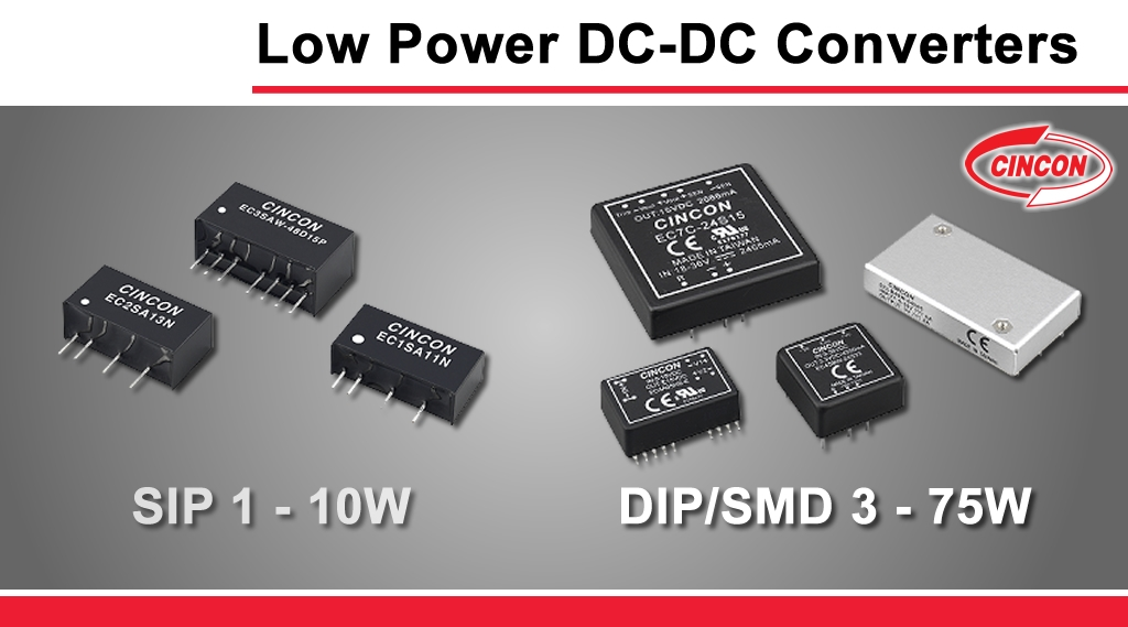 Cincon_Low_Power_DC_DC