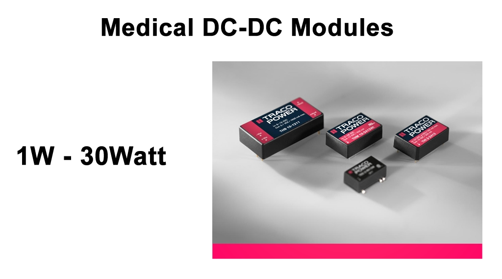 Traco_Medical_DC_DC_Modules