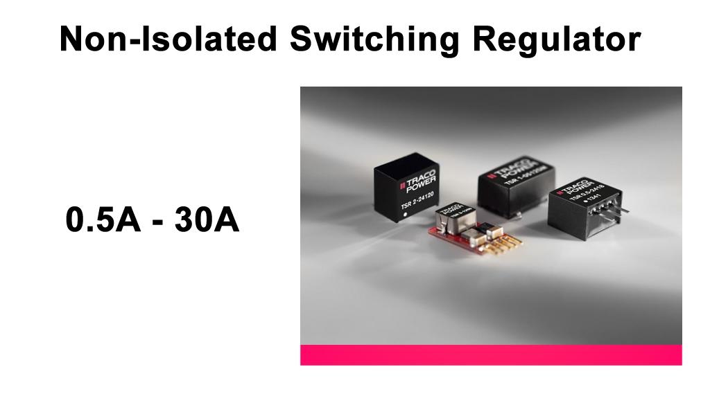Traco_POL_switching_regulator