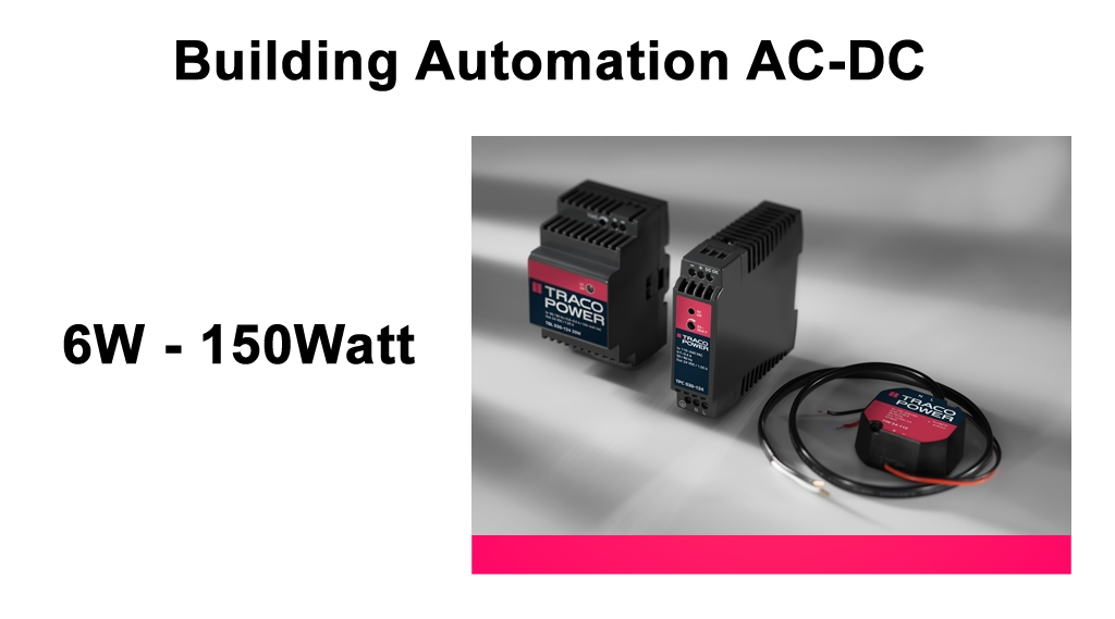 Traco_building_automation_ac_dc_power_supply