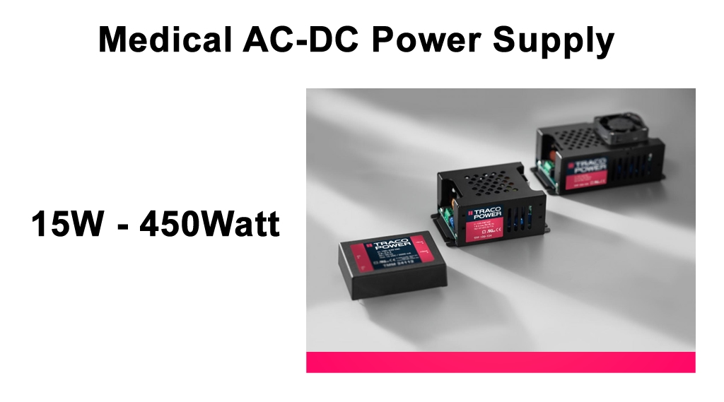 Traco_medical_ac_dc_power_supply