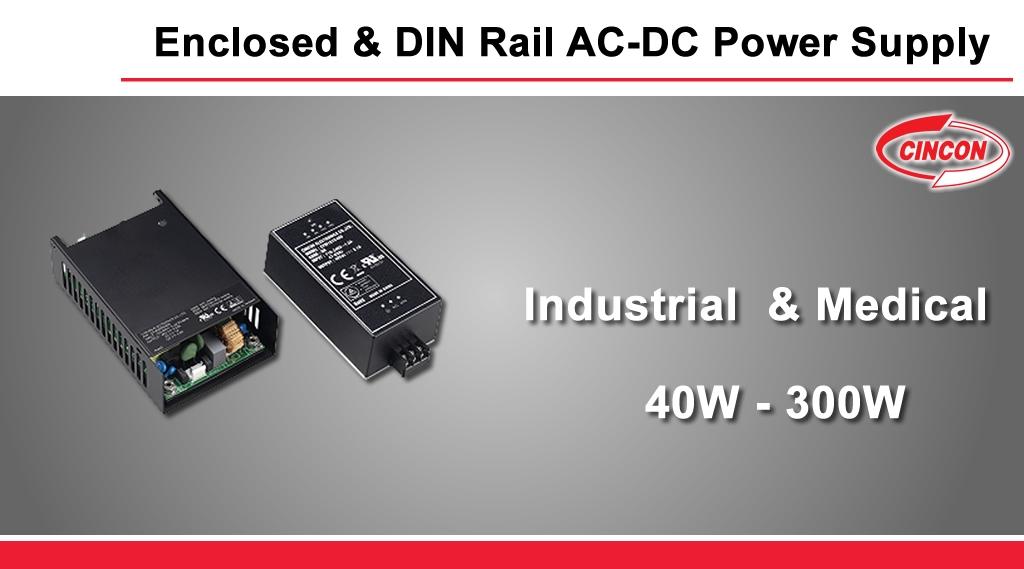 Cincon_enclosed_din_rail_ac_dc_power_supply